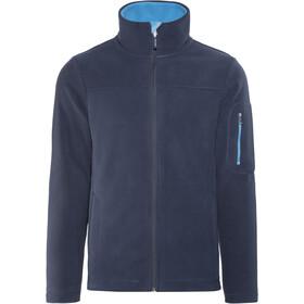 Elkline Doppeldecker Fleece Jacket Herren blueshadow-rivierablue